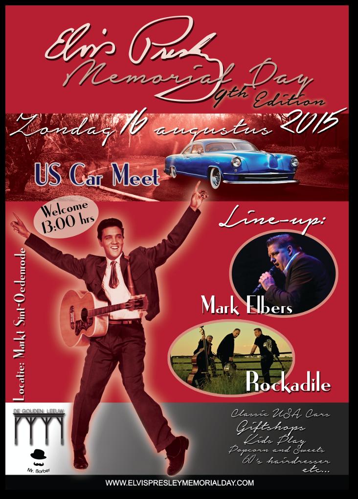 Elvis Presley Memorial Day 9 poster (2015)