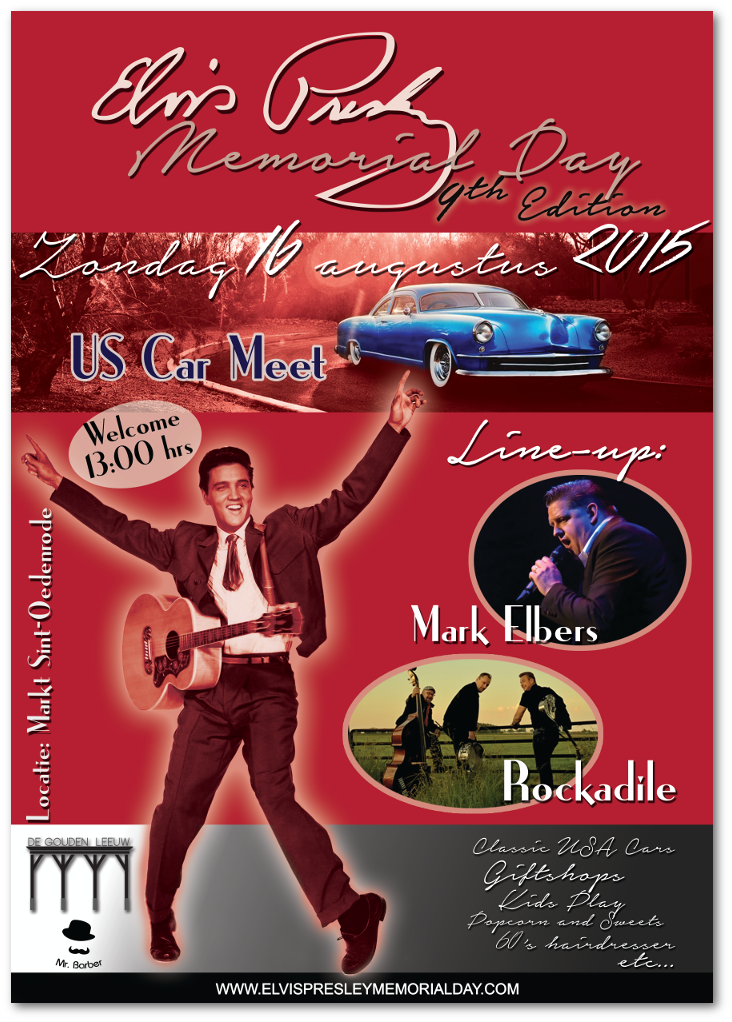 Elvis Presley Memorial Day 9 poster (2015)